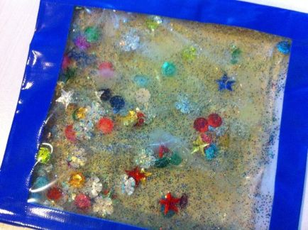 sensory bag - unicorns & fairytales