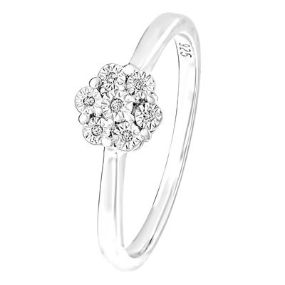 zilveren send ring met diamant 2 - Moederdag tip: Lucardi