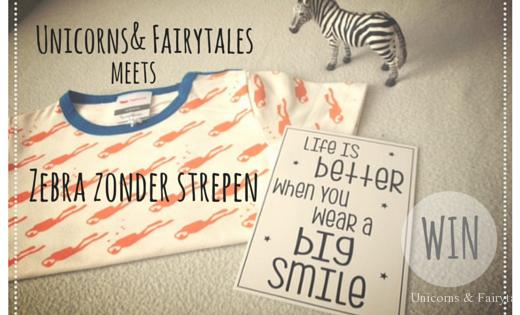 Unicorns & Fairytales - Zebra zonder strepen