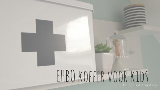 EHBO koffer voor kids 2 - 5 tips voor ouders met (buiten)spelende kinderen