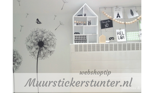 Muurstickerstunter.nl - unicorns & fairytales