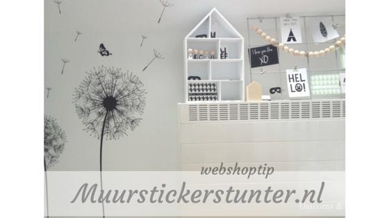 Muurstickerstunter.nl - unicorns & fairytales