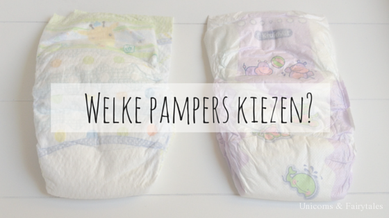 unicorns & fairytales - welke pampers kiezen