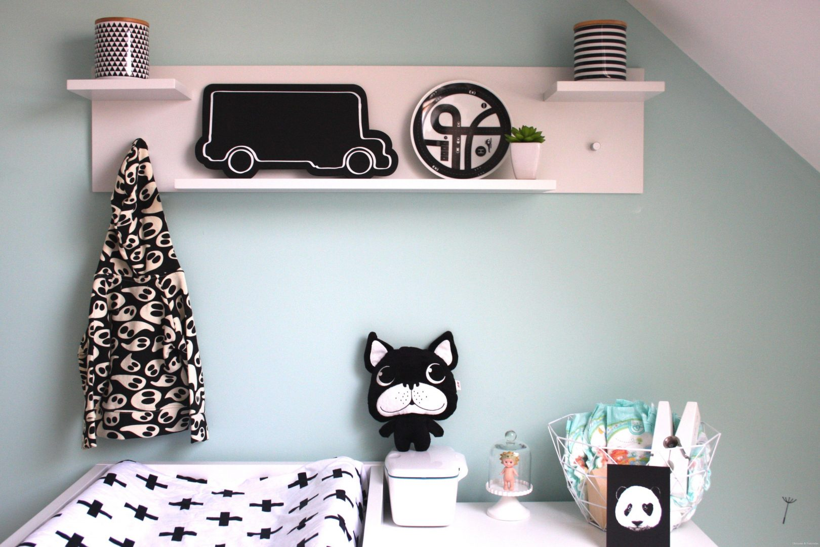 HM3 - Musthave | H&M Home black & white