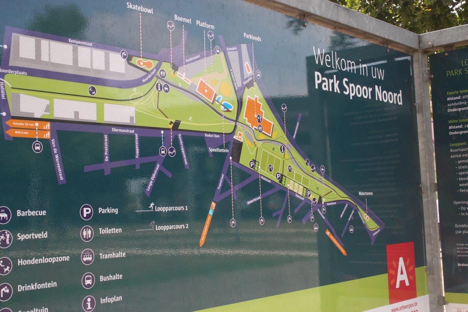 IMG 5835 - Op stap  |  Park Spoor Noord in Antwerpen