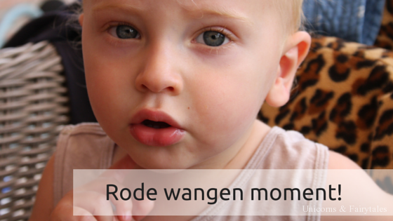 Rode wangen moment - unicorns & fairytales