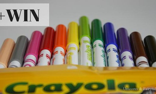 crayola - unicorns & fairytales