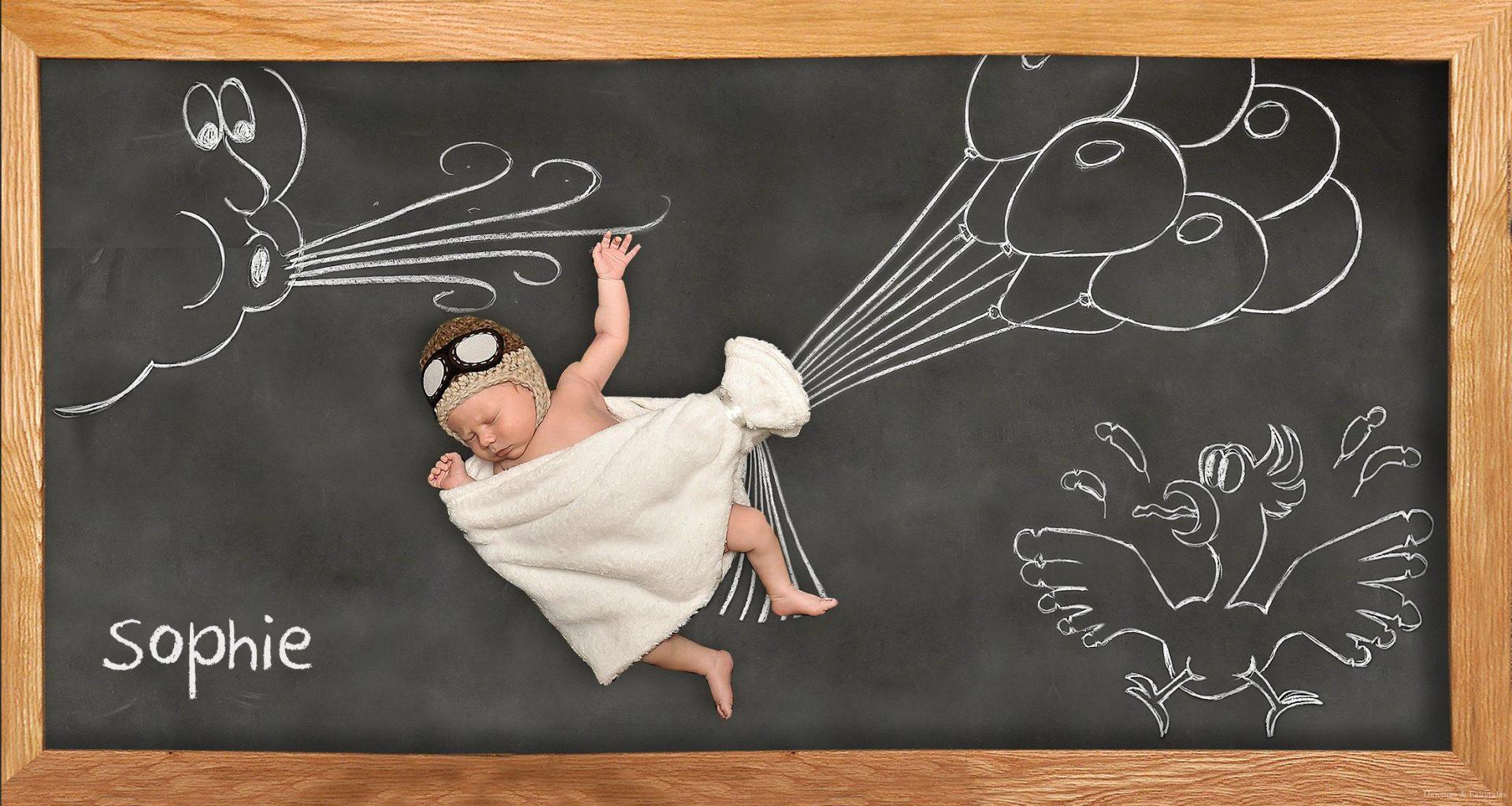 geboortekaartjes geboortepost CM8 - Unieke geboortekaartjes