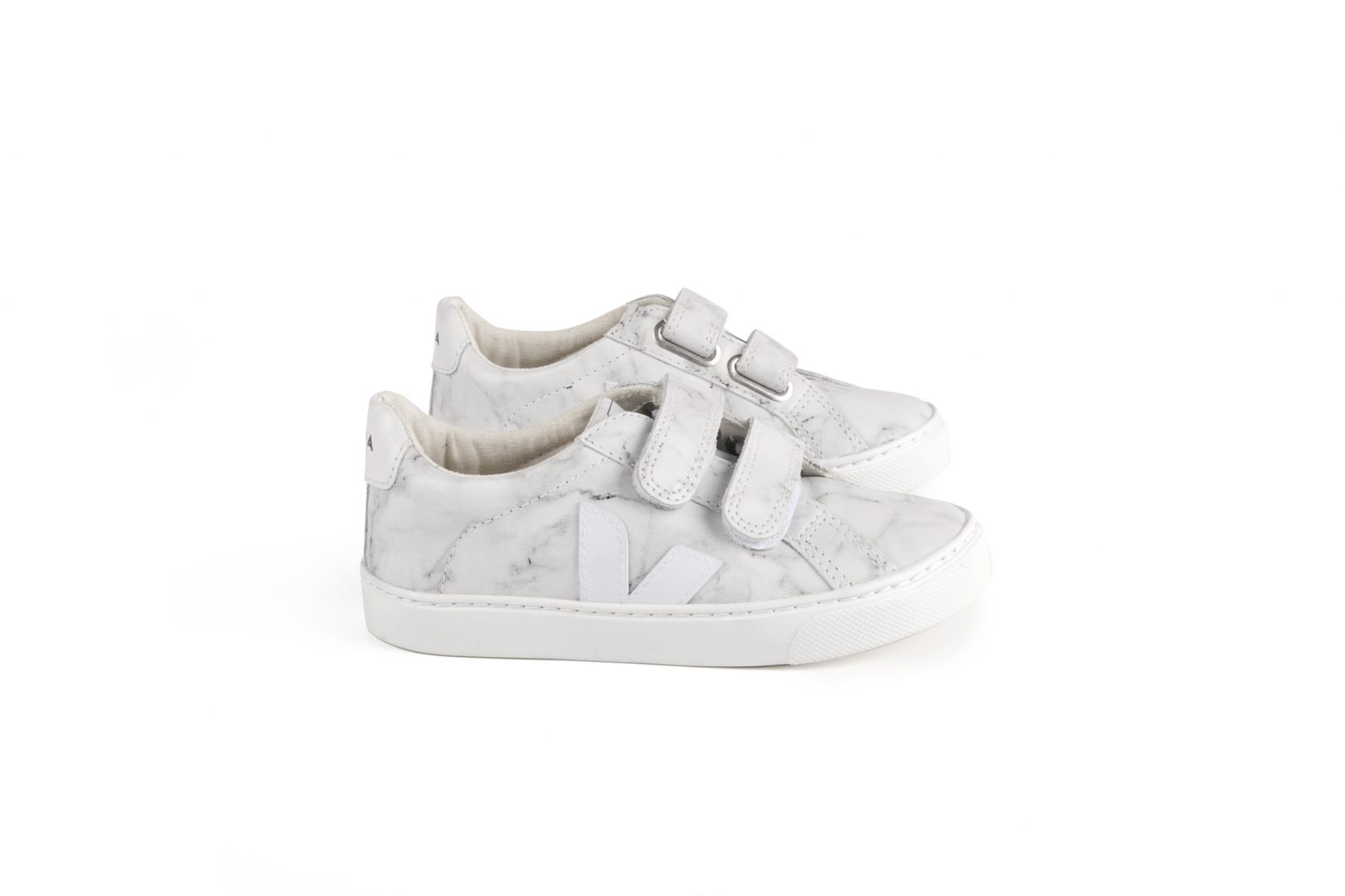 VEJA ESPLAR SMALL LEATHER MARBLE WHITE - GET INSPIRED   fabulous shoes for kids