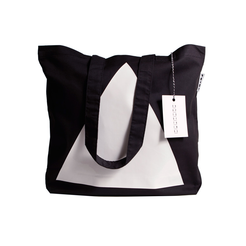 Black Tote White Triangle - Webshoptip | Shapes Of Things (SOTLTD) & WIN