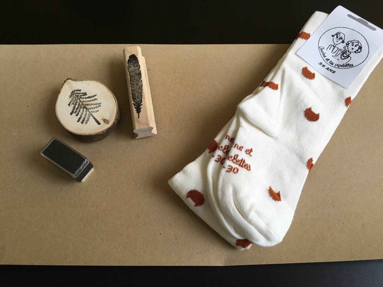 IMG 2676 - DIY | Zelf kerstkaarten en inpakpapier maken