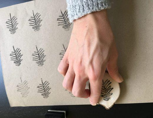 IMG 2678 520x400 - DIY | Kerstkaarten en inpakpapier maken & WIN