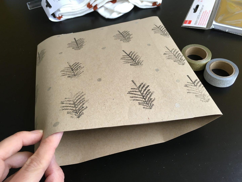 IMG 2680 - DIY | Zelf kerstkaarten en inpakpapier maken