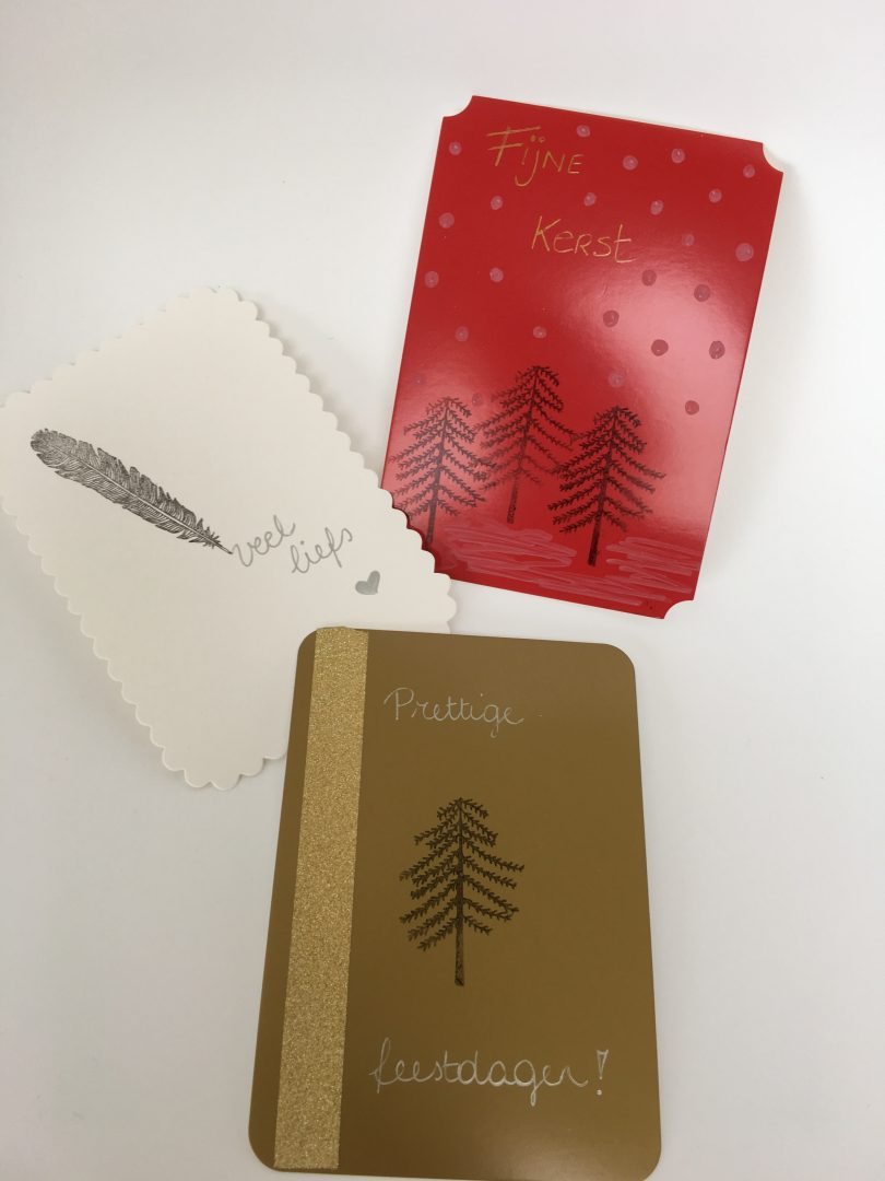 IMG 2690 e1449319290655 - DIY | Kerstkaarten en inpakpapier maken & WIN
