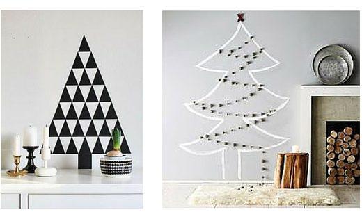 alternatieven voor een kerstboom - unicorns & fairytales