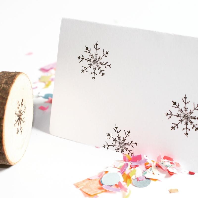 full34870119 - DIY | Zelf kerstkaarten en inpakpapier maken