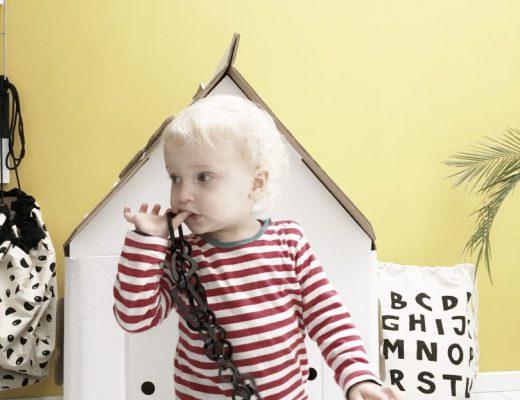 casa cabana cardboard house - unicorns & fairytales