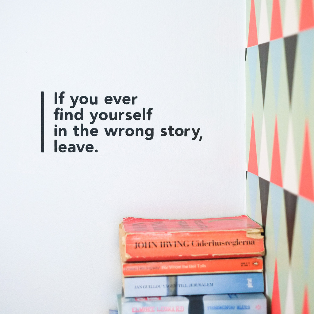 wall decal wrong story 1 1024x1024 - Muurstickers / wall decals|Made of Sundays