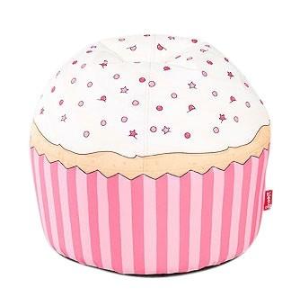 """woouf bean bag cherry cupcake - Ga eens """"lekker"""" zitten met Woouf"""