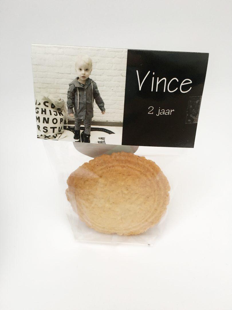FullSizeRender 1313 - Traktatie verjaardag Vince uitdeelzakjes & kaartje