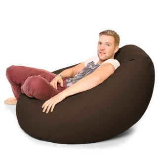 fl brn - Musthave Rucomfy Beanbags