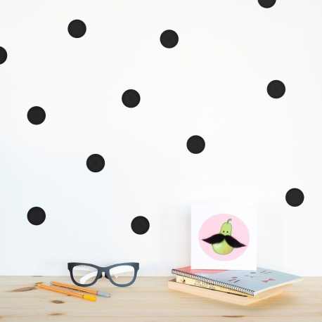 polka dots black - webshoptip|Em&Moi & win