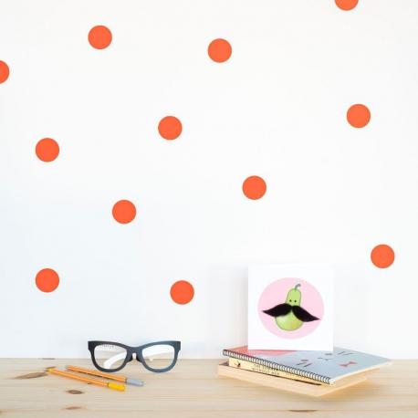 polka dots red - webshoptip|Em&Moi & win