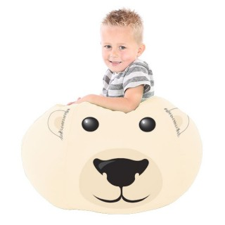 printed polarbear small 2 2 - Musthave Rucomfy Beanbags