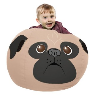 printed pug small 1 2 - Musthave Rucomfy Beanbags