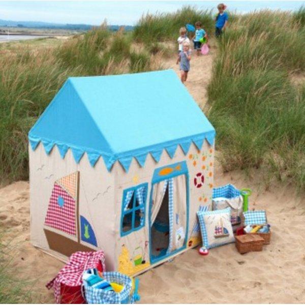 speeltent strandhuis - 5x leuk buitenspeelgoed + win