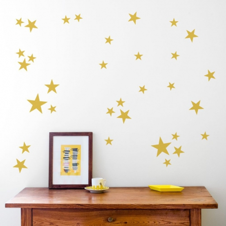 stars gold - webshoptip|Em&Moi & win