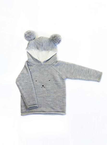 Little Bear Merino Jumper grande - Webshoptip |  Monkeynmoo & win shopcredit