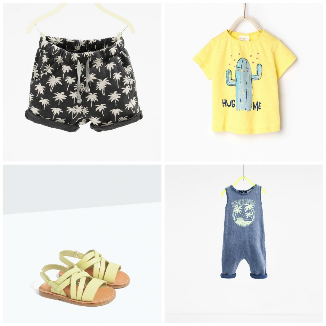 budget summer 6 - Summer Fashion with cactuses & palmtrees