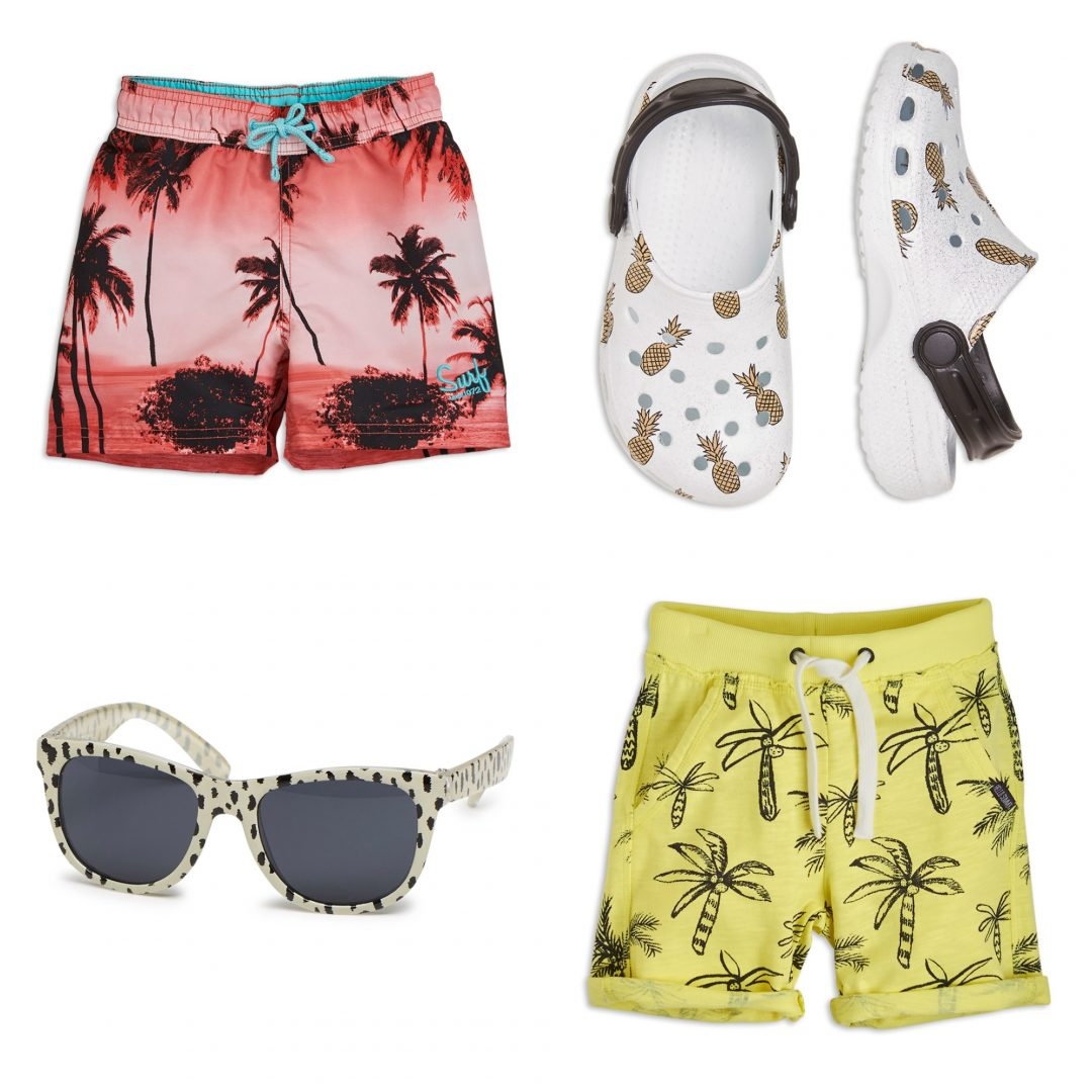 summer budget 4 - Summer Fashion with cactuses & palmtrees