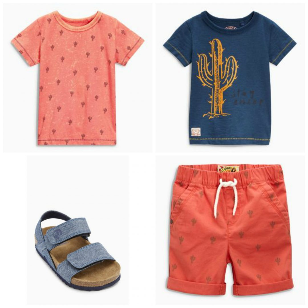 summer budget 5 - Summer Fashion with cactuses & palmtrees