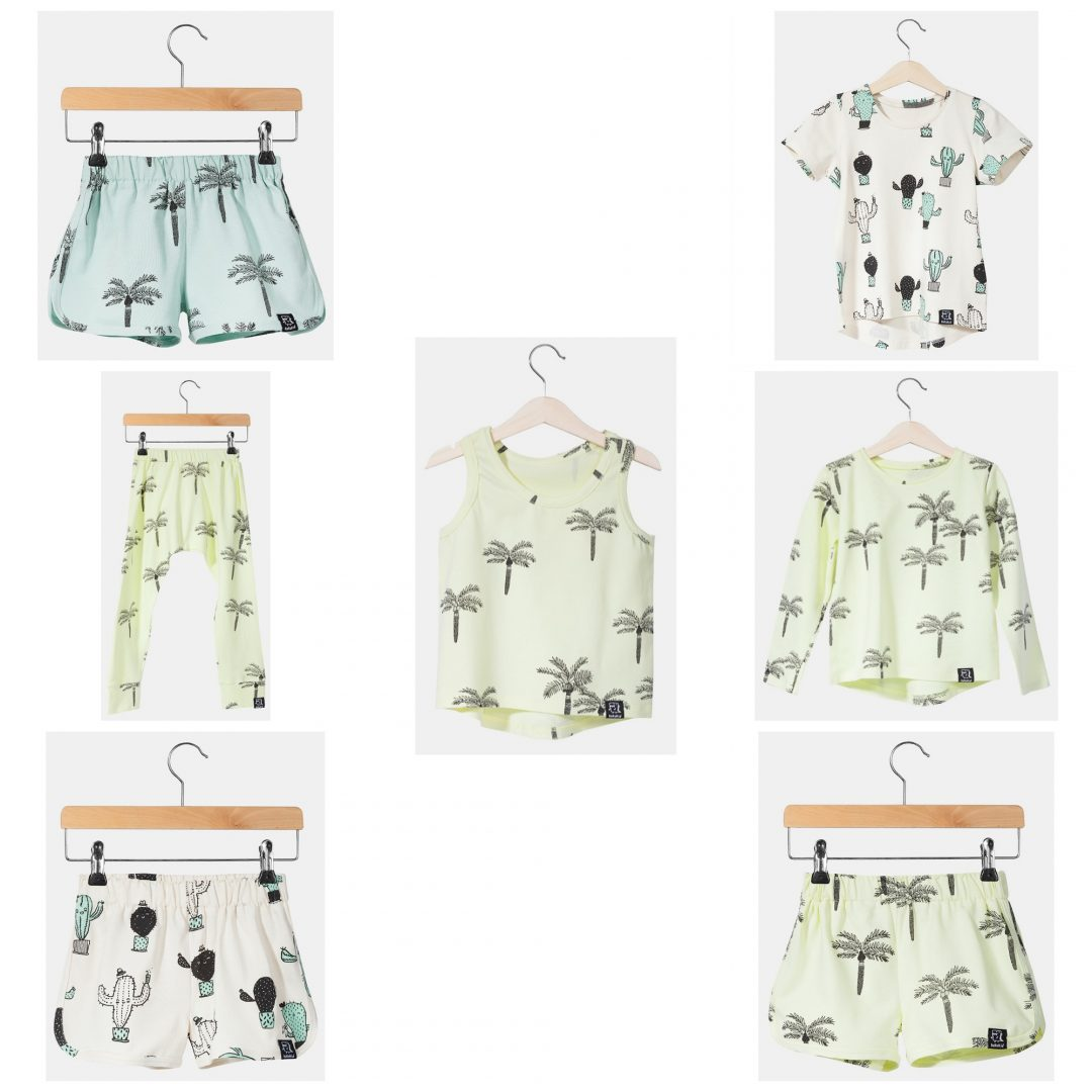 summer fashion - Summer Fashion with cactuses & palmtrees