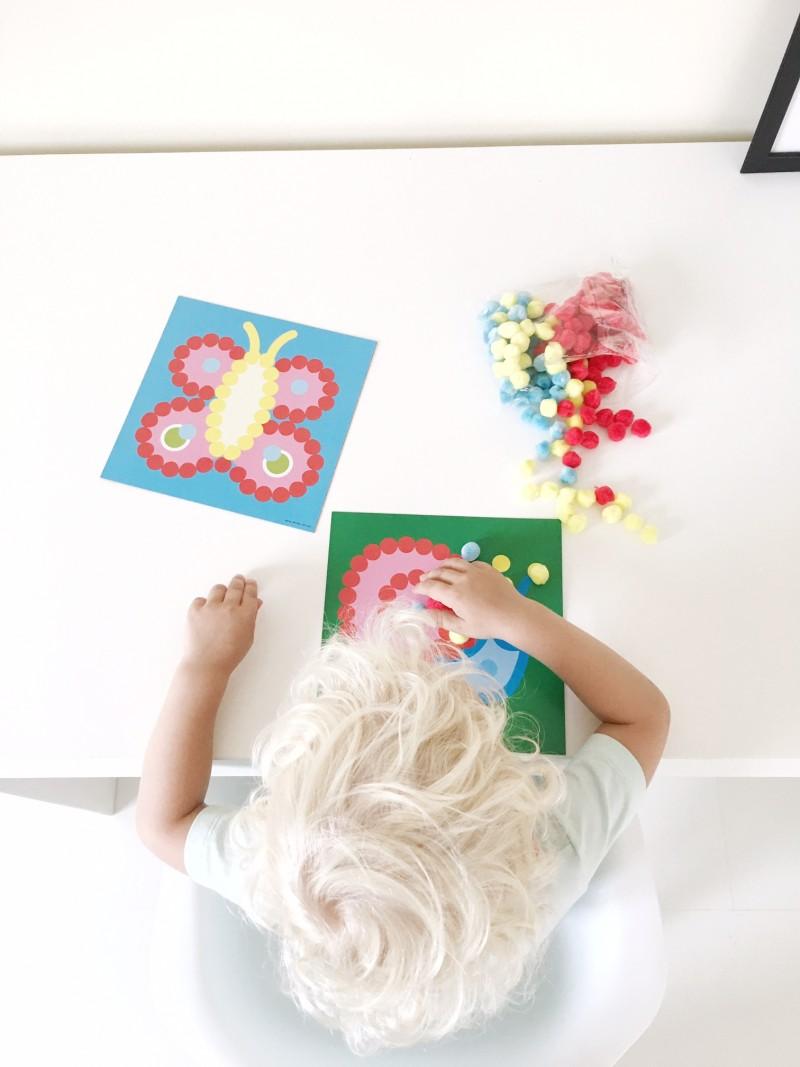 knutselen met kleine kinderen - unicorns & fairytales