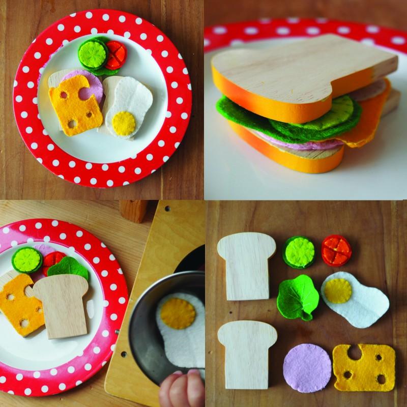 broodbeleg - Houten speelgoed (en kortingscode)