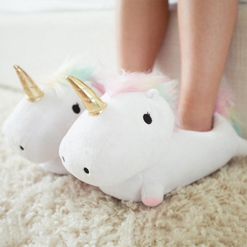 lichtgevende eenhoornpantoffels c36 - De leukste unicorns gadgets