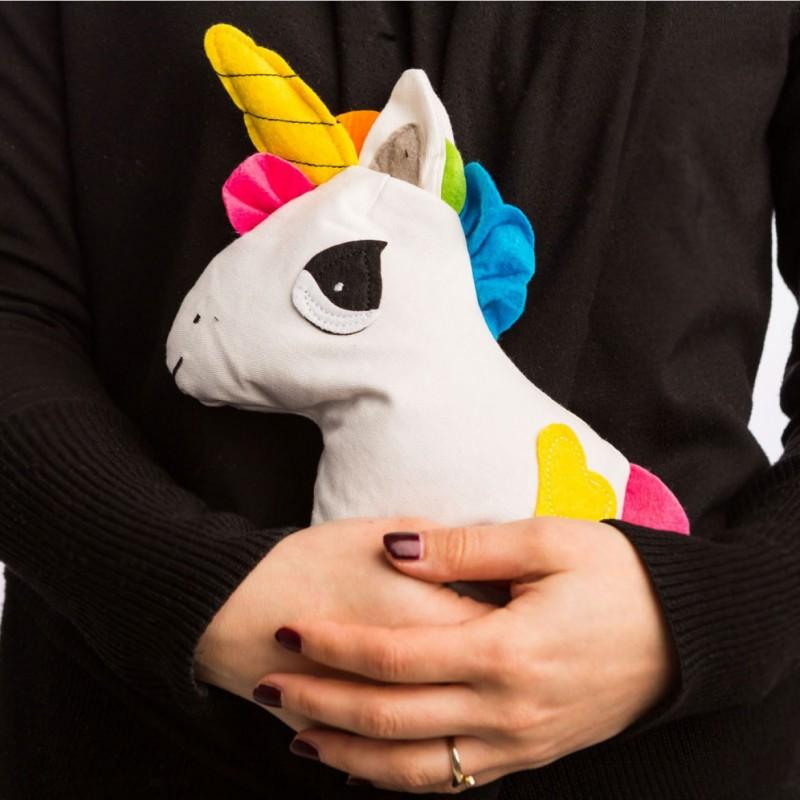 verwarmbare knuffel eenhoorn 561 - De leukste unicorns gadgets