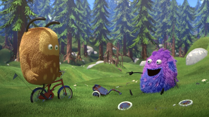 KiwiStrit Q0010 BicycleThief 16bit 2 - Nieuwe peuter -en kleuterfilm Kiwi & Strit + WIN