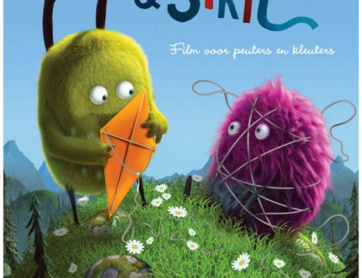 kiwiStrit poster 520x400 - Nieuwe peuter -en kleuterfilm Kiwi & Strit + WIN