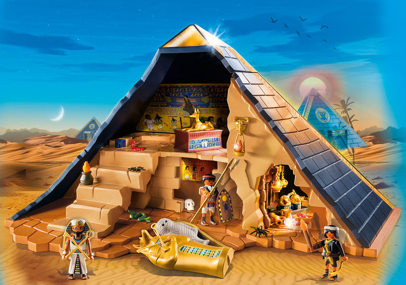 wl800hp600q85 PLAYMOBIL 5386 Pharaoh s Pyramid - Cadeautip feestdagen #2 | Playmobil Romeinen en Egyptenaren & WIN