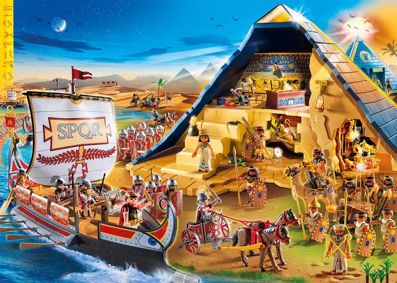 wl800hp600q85 PLAYMOBIL Playworld Romans and Egyptians - Cadeautip feestdagen #2 | Playmobil Romeinen en Egyptenaren & WIN