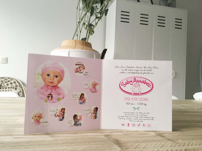 FullSizeRender 33 - Baby Annabell is born & WIN