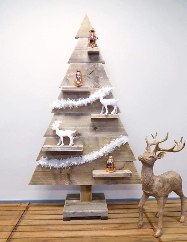 Kerstboom Steigerhout 170 cm - Zwanger tijdens de feestdagen? Tips om te overleven