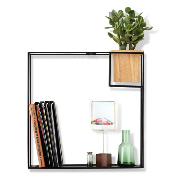 470754 427 cubist shelf large sand blk 01 - Webshoptip | Decoraza