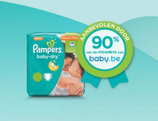 BabybelezeressenpampersbabydryBENL605x403 520x400 - Getest: de nieuwe pampers baby dry + VLOG