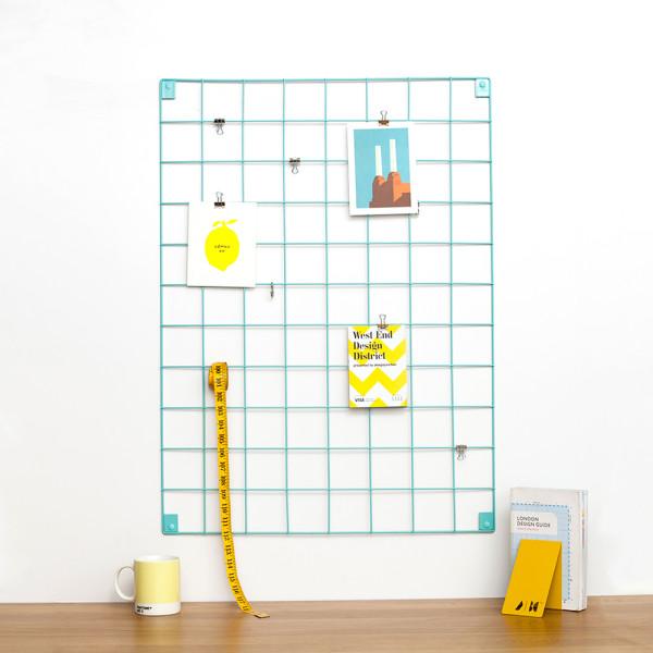Block wire mesh blue 600x600 - DIY | Showrek