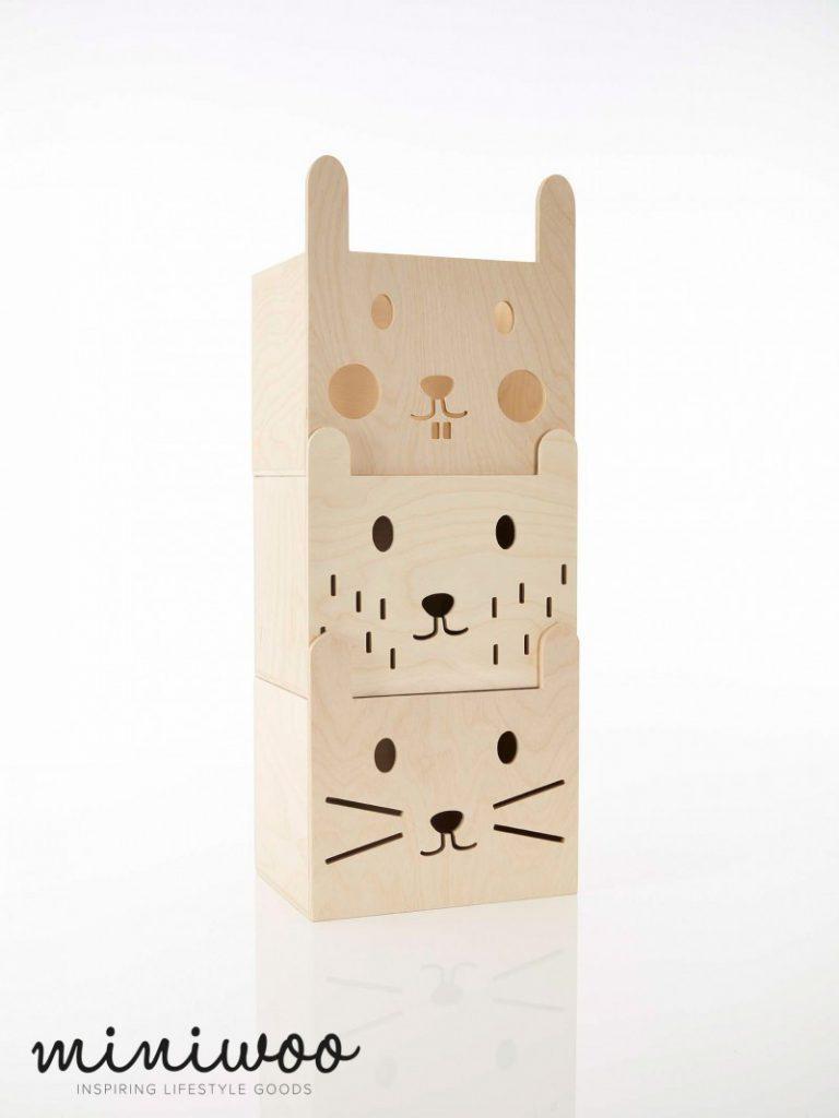 Miniwoo MIMO 110 1001 Storage boxes set of 3 Low Res 768x1024 - Miniwoo, leuke houten kindermeubels
